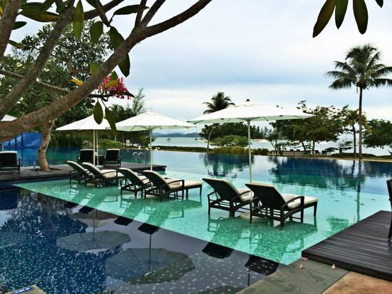 The Danna Langkawi: The pool.