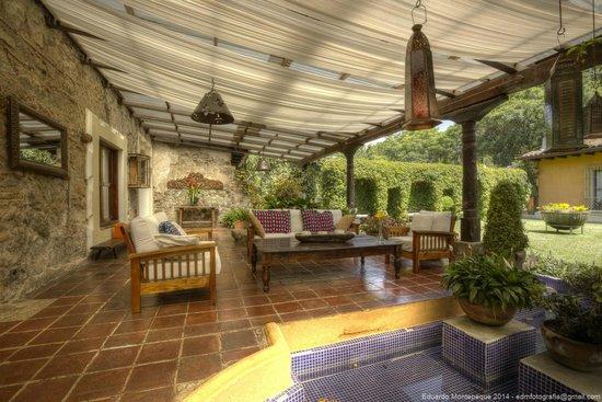 Casa Santa Rosa Hotel Boutique: Área para relajarse