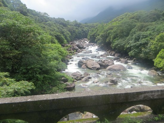 Guesthouse Yakushima : The bridge on the path to the guesthouse.