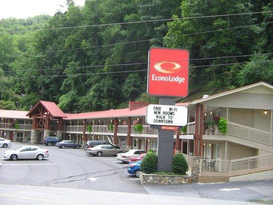 Econo Lodge Cherokee: Hotel