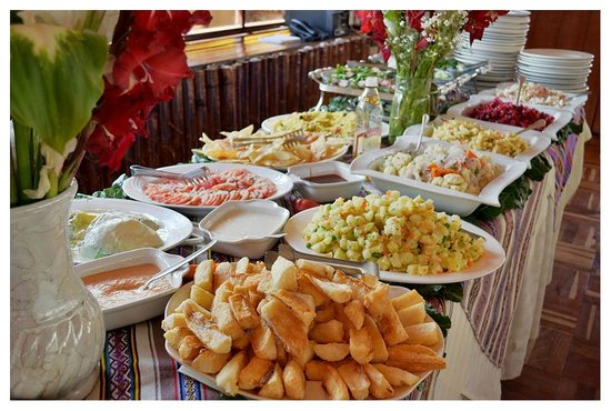 Inka's House: Salad Bar