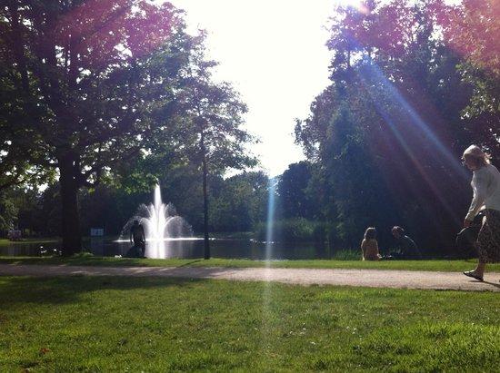 Vondelpark: vista