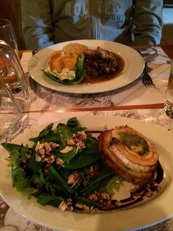 Spiseloppen Christiania: Lamm & chevre chaud