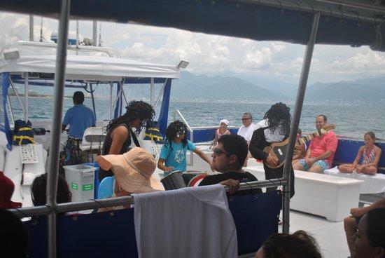 Islas Marietas: Crew performance