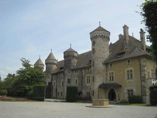Chateau de Ripaille, jardins, vignobles: Vista del Castello