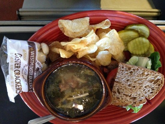 Uncommon Grounds: soup and sandwich -ultimate comfort food