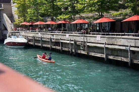 Wendella Sightseeing Boats: Kayakers