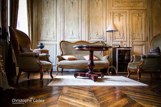 Chateau du Four de Vaux : le salon