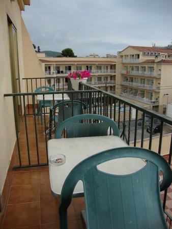 Hotel Spa La Terrassa : Terraza