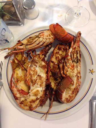 IBEROSTAR Playa de Muro: Homards servis au buffet de l hotel