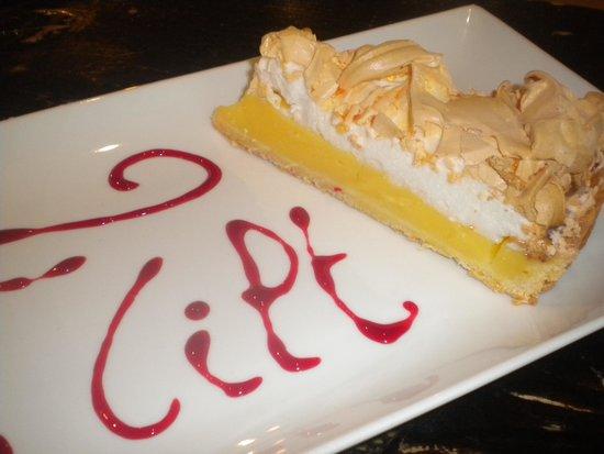Restaurant le Tilt: tarte citron