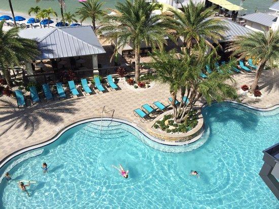 Shephard's Beach Resort: Dall alto