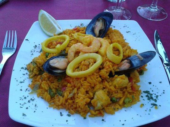Bistro del Puerto: Paella para uno