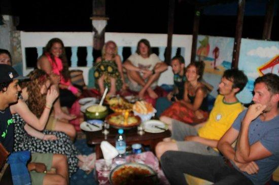 Ocean Surf House Taghazout: dinner