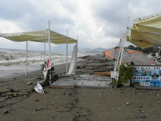 Gural Premier Tekirova: Nach dem Orkan