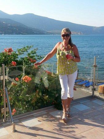 Akti Olous Hotel: Views from terrace