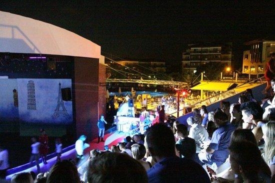 Club Calimera Serra Palace: Wieczorne show w amfiteatrze