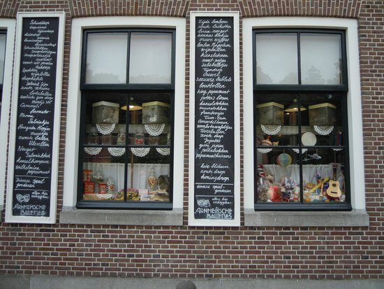 Netherlands Open-Air Museum and National Heritage Museum: Little shop, the sell Dutch candy