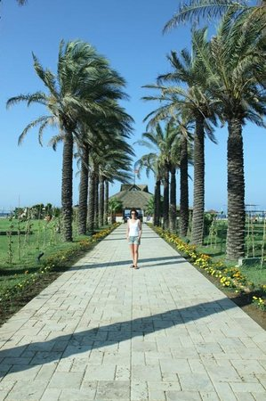 Club Calimera Serra Palace: Aleja na plażę