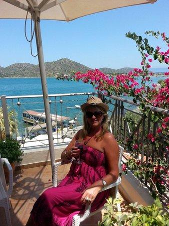 Akti Olous Hotel: Roof top pool views