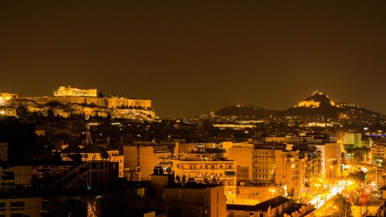 InterContinental Athenaeum: View from the Restaurant