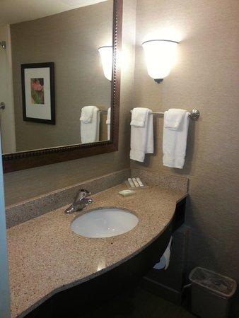 Hilton Garden Inn Birmingham / Lakeshore Drive: Clean bathroom