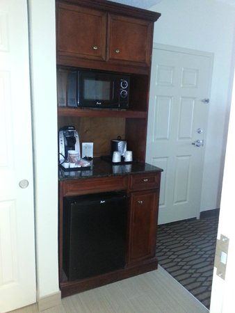 Nice Clean Fridge And Microwave Picture Of Hilton Garden Inn Birmingham Lakeshore Drive
