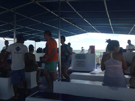 Ocean Adventures Bavaro Splash : On the boat