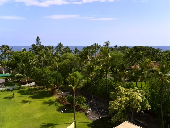 Courtyard by Marriott King Kamehameha's Kona Beach Hotel: view from balcony