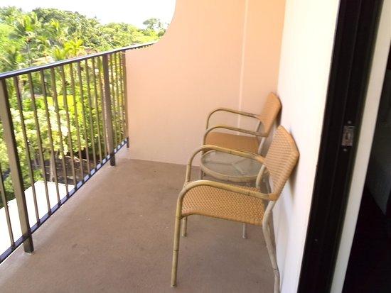 Courtyard by Marriott King Kamehameha's Kona Beach Hotel: balcony