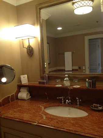 The Ritz-Carlton, New Orleans: Bathroom was perfect.