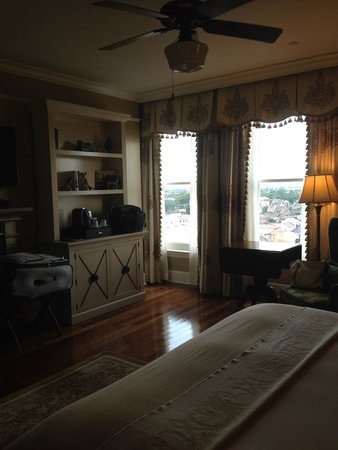 The Ritz-Carlton, New Orleans: Room, looking toward windows.