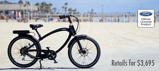 Pe Junction Electric Bikes Ford Super Cruiser