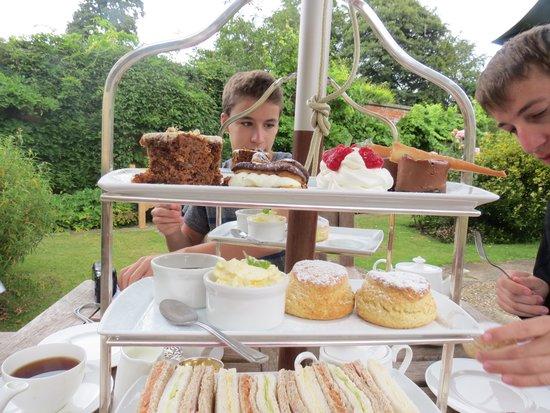 Beechfield House: Tea!