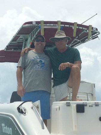 Easy Day Charters: Sean and Captain Tom