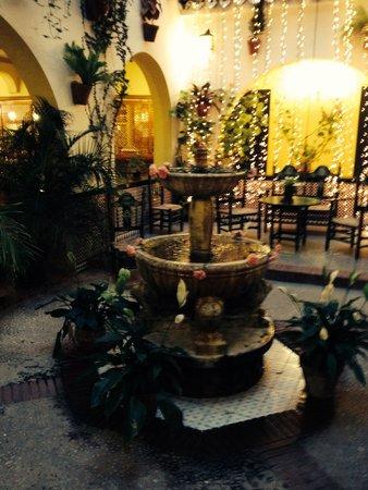 Hotel Villa Flamenca: Fontana .. Villa flamenca