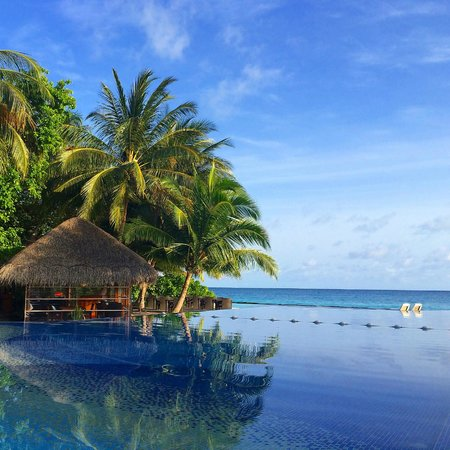 Kuramathi Island Resort: Infinity pool