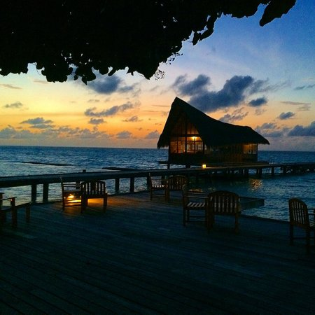 Kuramathi Island Resort : Sunset