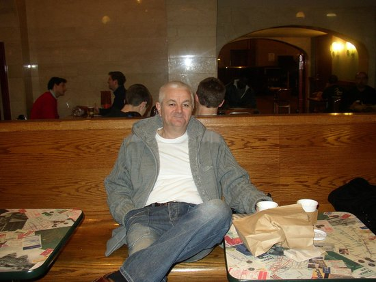Grand Central Terminal : Having lunch