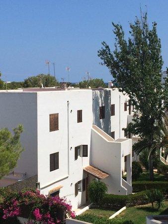 Gavimar Ariel Chico Club Resort : View from top floor apartment