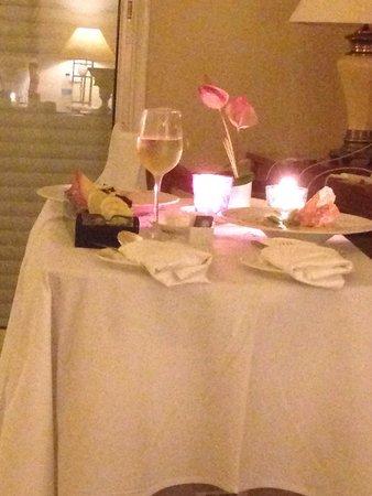 The Residence Mauritius: Very nice room service