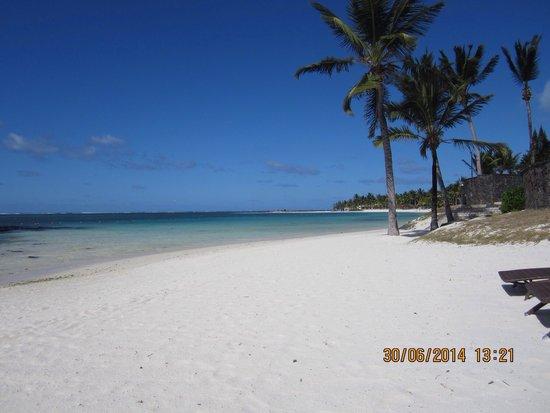 The Residence Mauritius: Beautiful beach