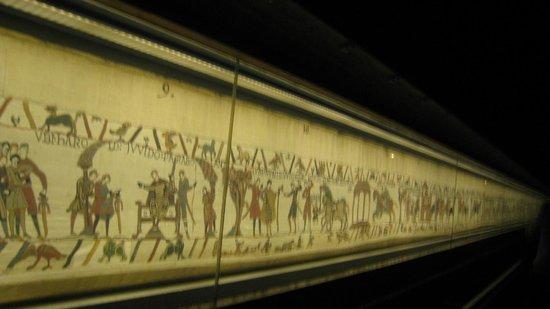 Musée de la Tapisserie de Bayeux : tapiz
