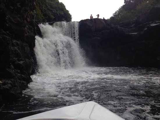 The Residence Mauritius : Nice excursion to a little cascade in the south of the island