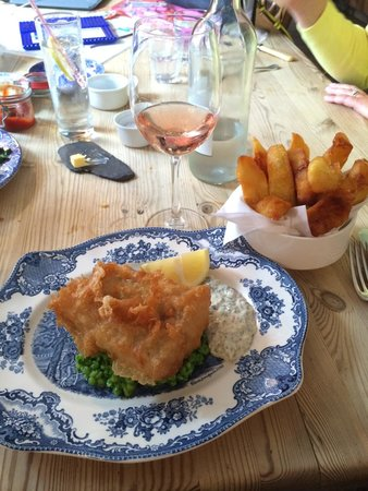 The Duck Inn: Best fish and chips I've ever tasted.