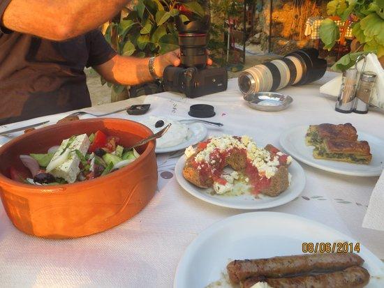 Villa Kapasa: Dinner 1st course!