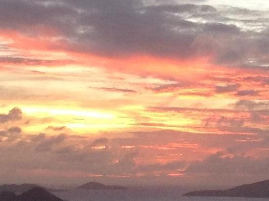 Cloud 9 Sailing Adventures: Sunset on Cruise Bay