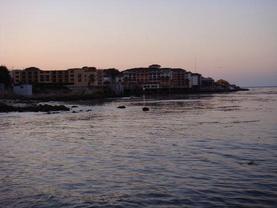 Coast Guard Pier : View of Monterey