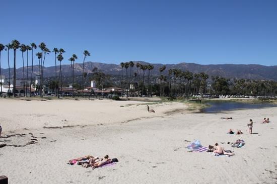 Santa Barbara Waterfront: het strand