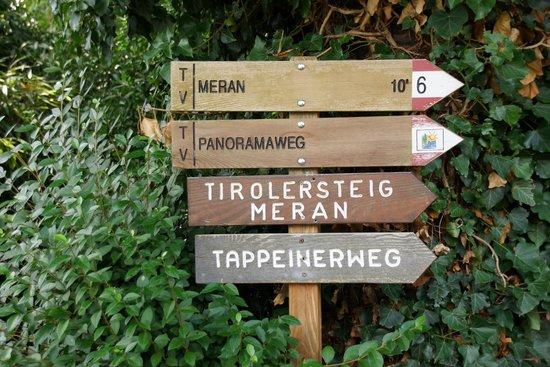 Hotel Garni Traubenheim: Wanderwege